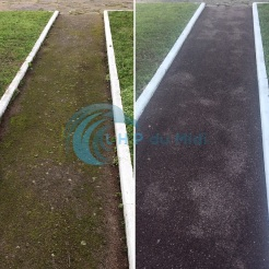 Nettoyage haute-pression – Nettoyage terrain de tennis et aire de ...
